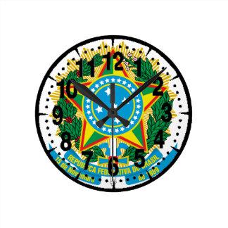 Brasil  Coat of Arms Clocks