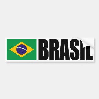 Brasil Flag Bumper Sticker
