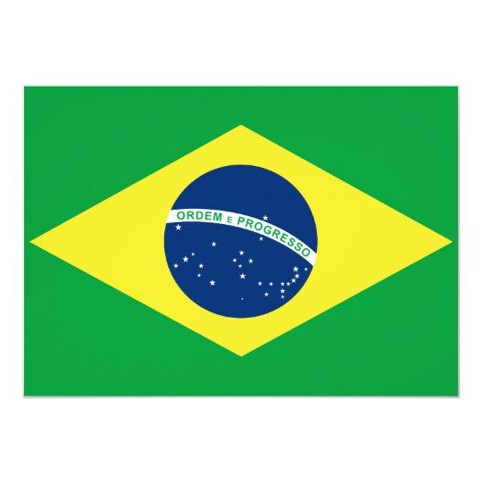 brasil flag card