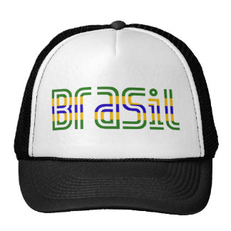 Brasil Flag Colors! Trucker Hat