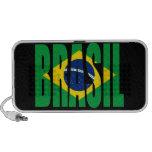 Brasil Flag Doodle Speaker