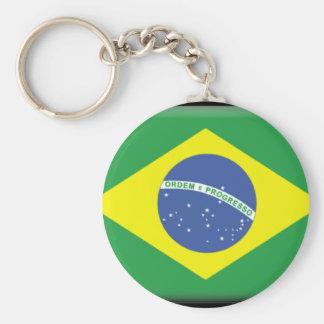 Brasil Flag Keychain