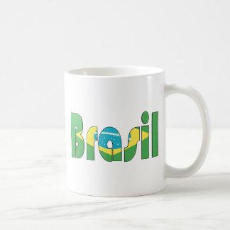 Brasil Flag T-shirt Coffee Mug