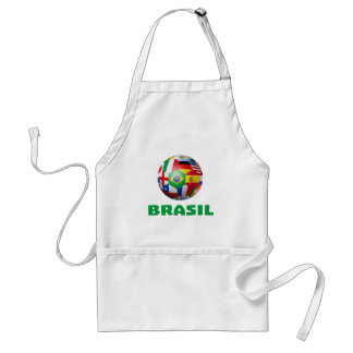 Brasil Futebol Adult Apron