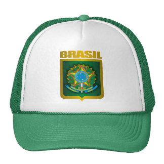 """Brasil Gold"" Cap"