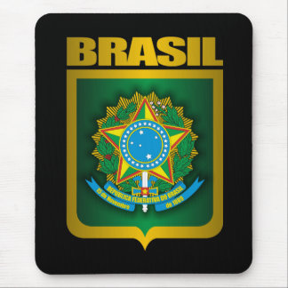 """Brasil Gold"" Mouse Pad"