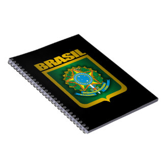 """Brasil Gold"" Notebook"