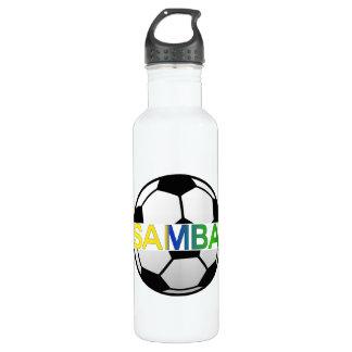 Brasil La Seleçao Ball Shirt 24oz Water Bottle