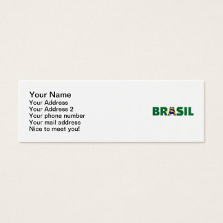Brasil Mini Business Card