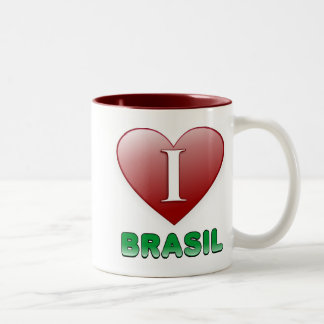 Brasil Two-Tone Coffee Mug