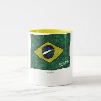 Brasil! Two-Tone Coffee Mug