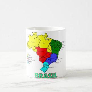 Brasil. Regions in Color Classic White Coffee Mug