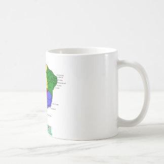 Brasil. Regions in Color Mug