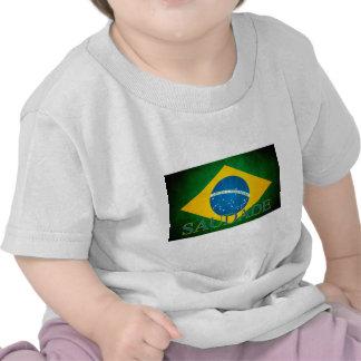 Brasil Saudade Flag semi final 2014 Tees