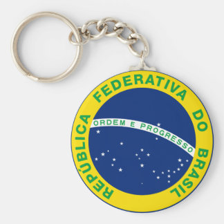 Brasil Seal Key Chains