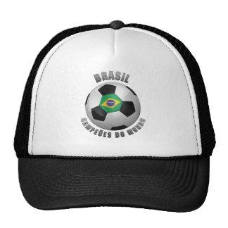 BRASIL SOCCER CHAMPIONS TRUCKER HATS