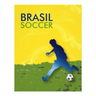 Brasil Soccer Flyer