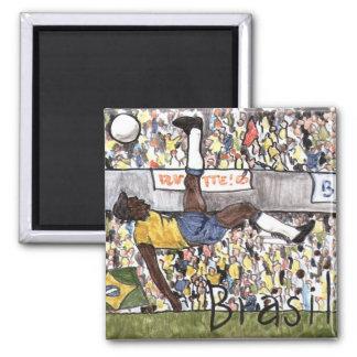 Brasil Soccer Magnet
