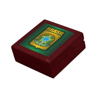 """Brasil Steel"" Keepsake Box"