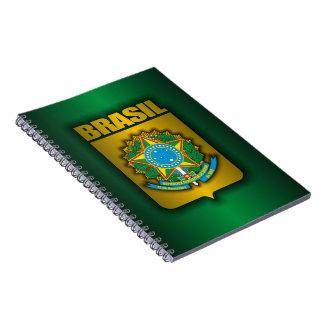 """Brasil Steel"" Notebook"