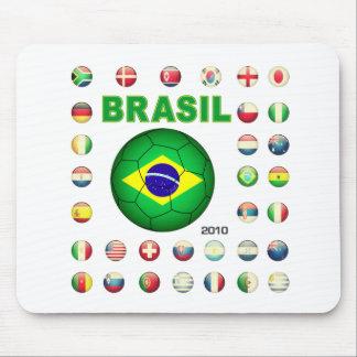 Brasil t-shirt D7 Mouse Pad