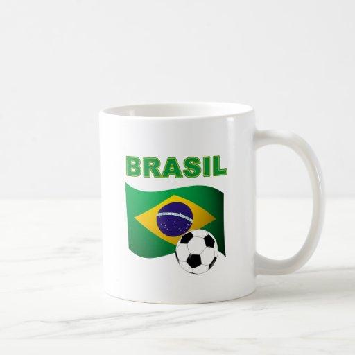 Brasil World Cup t-shirt Classic White Coffee Mug