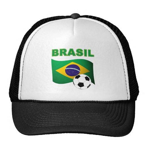 Brasil World Cup t-shirt Mesh Hats