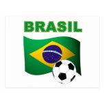 Brasil World Cup t-shirt Post Cards