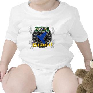 BRASIL WORLDCUP  HUMMINGBIRD CUSTOMIZABLE BABY CREEPER
