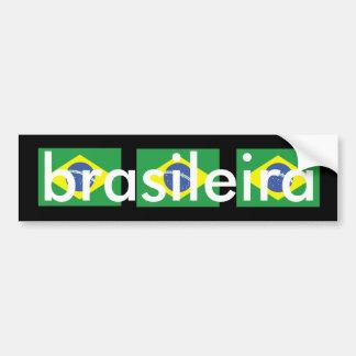 Brasileira Bumper Sticker