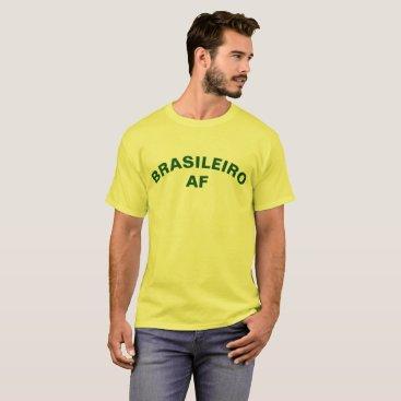 Beach Themed BRASILEIRO AF T-Shirt
