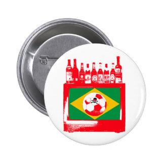 brasileiro de céu de futebol pins