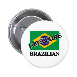 BRASILEN@O del 100 por ciento Pin