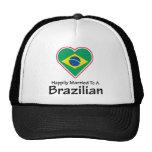 Brasilen@o feliz casado gorro