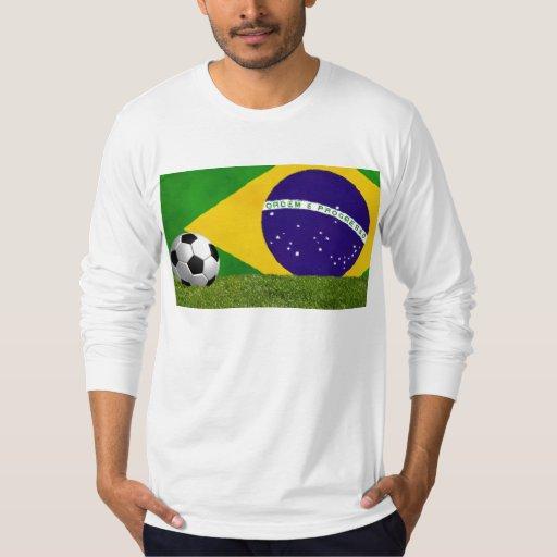 Brasilen@o Futbol - fútbol Remera