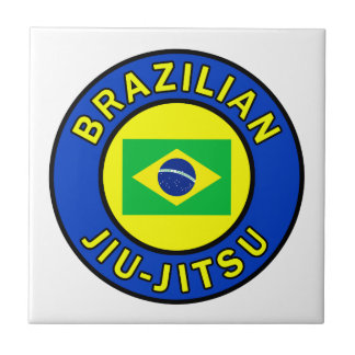Brasilen@o Jiu-Jitsu Azulejo Cuadrado Pequeño