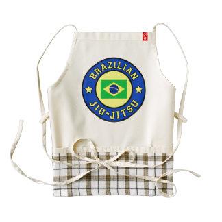 Brasilen@o Jiu-Jitsu Delantal Zazzle HEART