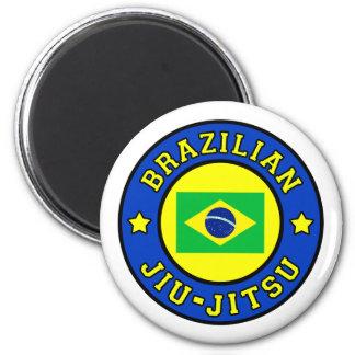 Brasilen@o Jiu-Jitsu Imán Redondo 5 Cm