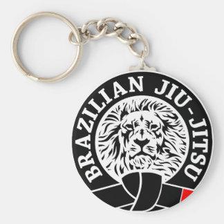 Brasilen@o Jiu-Jitsu (llavero) Llavero Redondo Tipo Pin