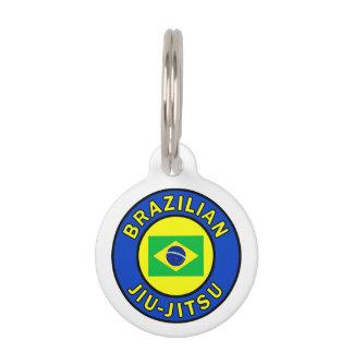 Brasilen@o Jiu-Jitsu Placa Para Mascotas