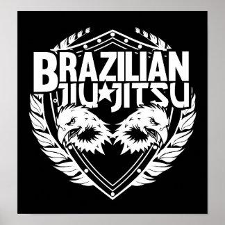 Brasilen@o Jiu Jitsu Póster