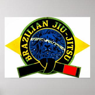 Brasilen@o Jiu-Jitsu Póster
