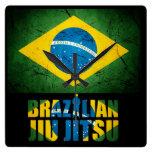 Brasilen@o Jiu Jitsu - reloj de pared resistido de