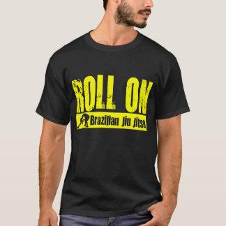 Brasilen@o Jiu JItsu - rollo en la camiseta