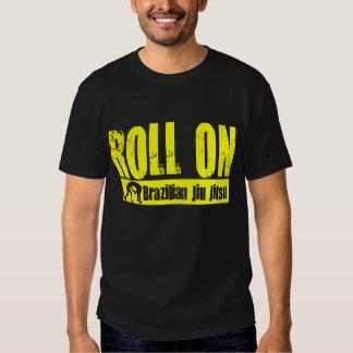 Brasilen@o Jiu JItsu - rollo en la camiseta Playera