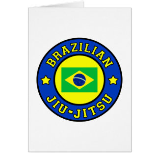 Brasilen@o Jiu-Jitsu Tarjeta De Felicitación