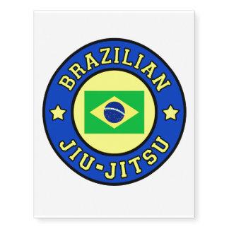 Brasilen@o Jiu-Jitsu Tatuajes Temporales