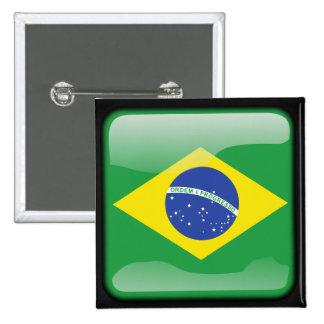 Brasilen@o pulido pin cuadrado