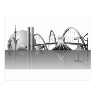 Brasilia city postcard
