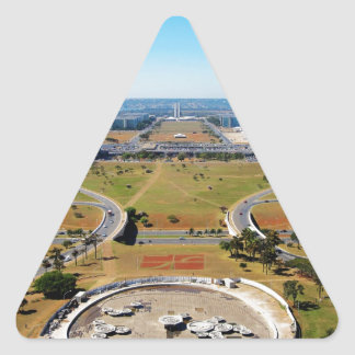 Brasilia Triangle Sticker